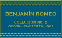 Benjamin Romeo Coleccion No 2 - La Canoca Gran Reserva
