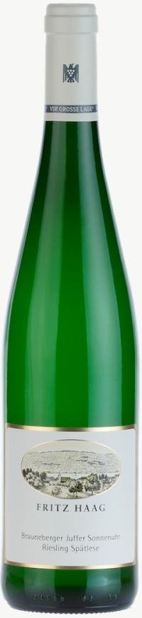 Brauneberger Juffer Sonnenuhr Riesling Spätlese (fruchtsüß) Versteigerungswein