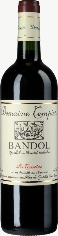 Bandol Rouge Cuvee La Tourtine 2012