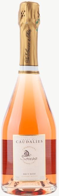 Cuvée des Caudalies Rosé Brut   Flaschengärung