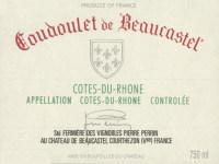 Cotes du Rhone Coudoulet de Beaucastel