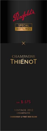 Thienot x Penfolds Chardonnay Pinot Noir Cuvee Lot 1-175 Flaschengärung