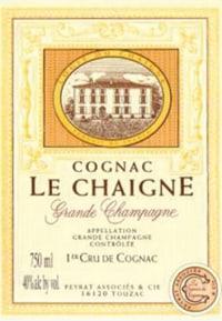 Cognac Grande Champagne Le Chaigne