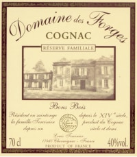 Cognac Bons Bois Domaine des Forges