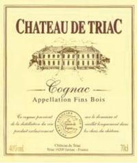 Cognac Fins Bois Chateau de Triac