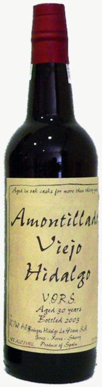 Sherry Amontillado Viejo (fruchtsüß)