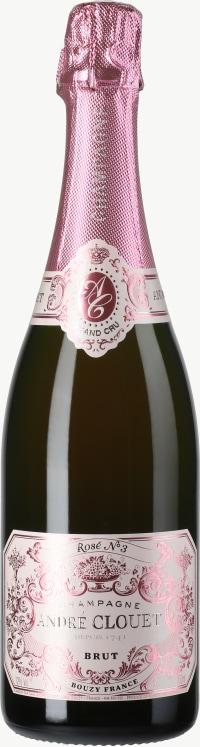 Champagne Brut Rosé Flaschengärung