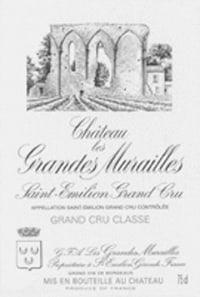 Chateau Les Grandes Murailles Grand Cru Classe 2011