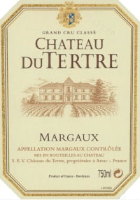 Chateau Du Tertre 5eme Cru 2014
