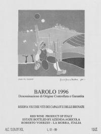 Barolo Riserva Vecchie Viti dei Capalot e delle Brunate 2006