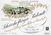 Scharzhofberger Riesling Kabinett (fruchtsüß)