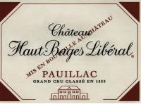 Chateau Haut Bages Liberal 5eme Cru 2010