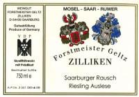 Saarburger Rausch Riesling Auslese Goldkapsel (fruchtsüß) 2007