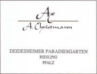 Riesling trocken Deidesheimer Paradiesgarten 2011