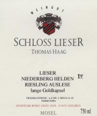 Niederberg Helden Riesling Beerenauslese (fruchtsüß) 2010
