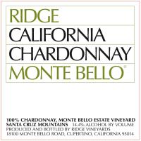 Chardonnay Monte Bello 2012