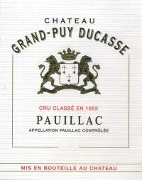 Chateau Grand Puy Ducasse 5eme Cru 2010
