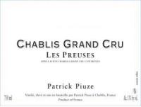 Chablis Grand Cru Preuses 2013