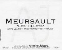 Meursault Les Tillets Village 2010