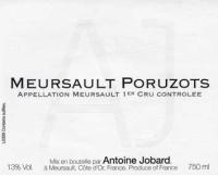 Meursault Poruzot 1er Cru 2011