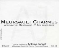 Meursault Charmes 1er Cru 2013