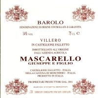 Barolo Villero 2011