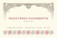 Mazoyeres Chambertin Grand Cru 2012