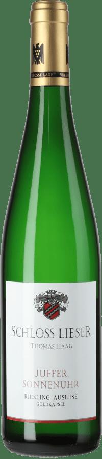 Brauneberger Juffer Sonnenuhr Riesling Auslese Goldkapsel (fruchtsüß) 2012