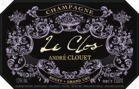 Champagne Le Clos de Bouzy Grand Cru Flaschengärung 2006