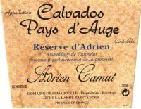 Calvados Camut Reserve d'Adrien (40 Jahre)