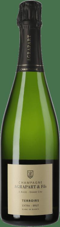 Champagne Extra Brut Terroirs Blanc de Blancs Grand Cru Flaschengärung