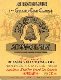 Chateau Angelus 1er Gr.Cr.Cl. A 2015