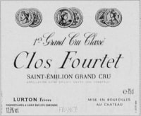 Chateau Clos Fourtet 1er Grand Cru Classe B 2011