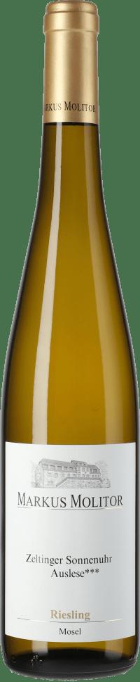 Riesling Zeltinger Sonnenuhr Auslese ***  Goldene Kapsel (fruchtsüß) 2014