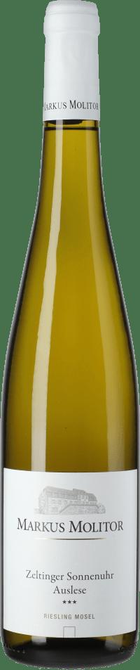 Riesling Zeltinger Sonnenuhr Auslese *** Weiße Kapsel trocken 2018