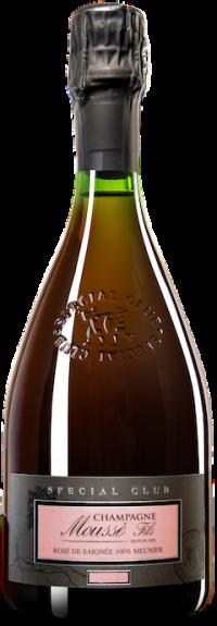 Champagne Special Club Rose de Saignee - Lieu dit Les Bouts de la Ville Extra Brut Flaschengärung 2015
