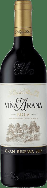 Vina Arana Gran Reserva 2012