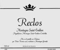 Chateau Reclos - Montagne St.Emilion (12 Flaschen) 2005