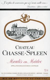 Chateau Chasse Spleen Cru Bourgeois 2010