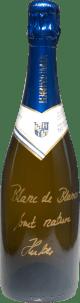 Chardonnay Sekt Blanc de Blanc Brut nature Flaschengärung 2011