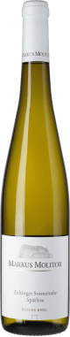 Riesling Zeltinger Sonnenuhr Spätlese Weiße Kapsel trocken 2017