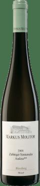 Riesling Zeltinger Sonnenuhr Auslese ** grüne Kapsel (Versteigerungswein) feinherb 2008