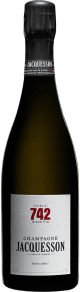Champagne Extra Brut Cuvee 742 Flaschengärung