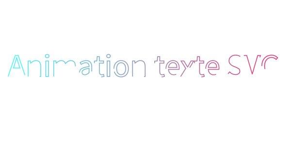 Animation SVG avec CSS3