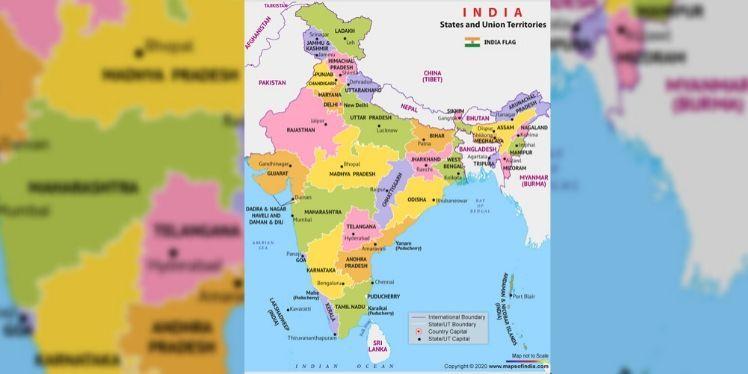 Photo of भारत में कुल कितने राज्य हैं, उनके नाम और राजधानी क्या हैं?