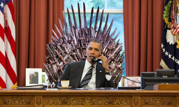 game of thrones fan Barack obama