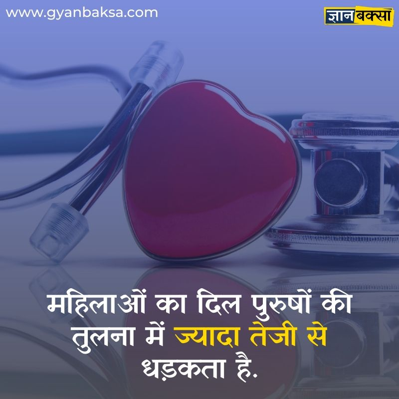 about women heart in hindi