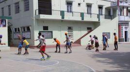Inter School Skating Competition at Sangria (Gramotthan Vidyapeeth).