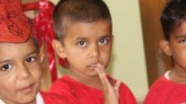 Red Day Celebration By Nursery Kids