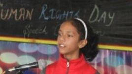 Human Rights Day Celebration with Assembly Activity & Speech Competition
